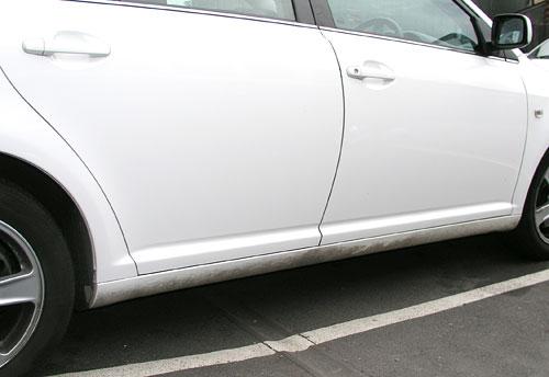 Car Lease Return Scratches