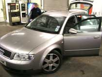 Audi Avant before valeting
