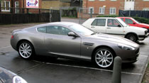 Aston Martin DB9 wheel refurbishment