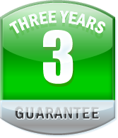 Three Year Guarantee on Wheel Refurbishment.