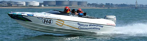Neptune Waterproof Communications 150 class 4-stroke Honda Power boat Championship