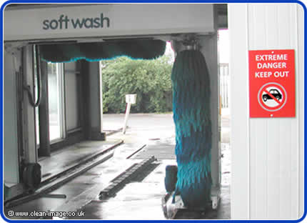 The dangers of automated car washes