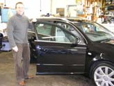 mark with his newly valeted Audi A4 20T