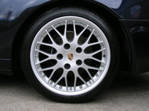 Yet another of these Porsche wheel. We refurbish a lot of these.