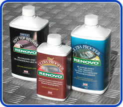 Renovo valet supplies. Products for hoods