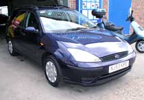 Ford Focus after valeting