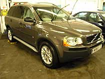 volvo xc909 being valeted
