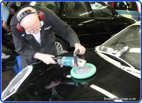 Car Buffing Foam Pads And Wool Mops
