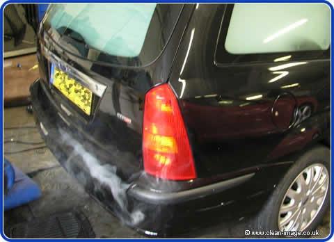 Water Damaged Car Clean Up Repair And Restoration