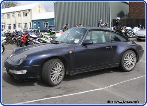 Porsche 911 as it was when brought to us in the Spring