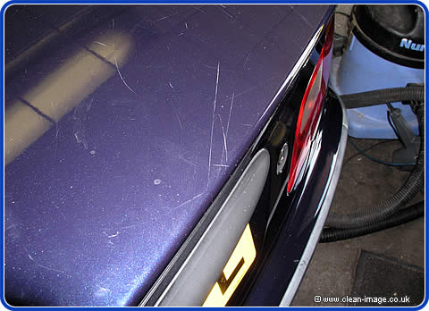 These scratch can be repaired.